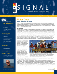 Internal Newsletter - Spring Issue by Jennifer Schlueter